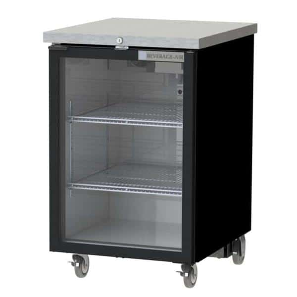 Beverage Air BB24HC-1-FG-B Refrigerated Food Rated Back Bar Storage Cabinet