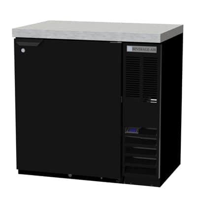 Beverage Air BB36HC-1-B-27 Refrigerated Back Bar Storage Cabinet