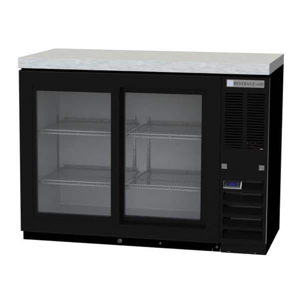 Beverage Air BB48HC-1-F-GS-S Refrigerated Food Rated Back Bar Storage Cabinet