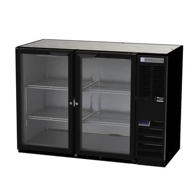 Beverage Air BB48HC-1-G-B Refrigerated Back Bar Storage Cabinet