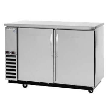 Beverage Air DZ58-1-S Dual Zone Beer & Wine Refrigerated Back Bar