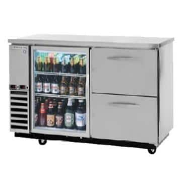 Beverage Air DZ58G-1-S Dual Zone Beer & Wine Refrigerated Back Bar