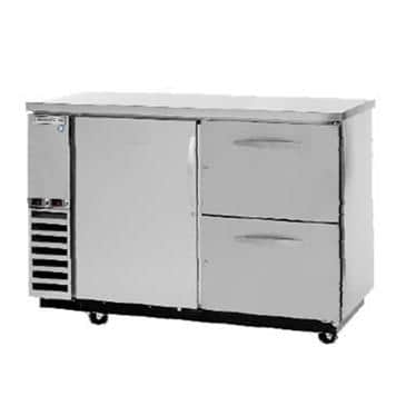 Beverage Air DZD58-1-S-2 Dual Zone Beer & Wine Refrigerated Back Bar