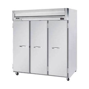 Beverage Air HR3-1S Solid Door Top Mount Reach-In Refrigerator