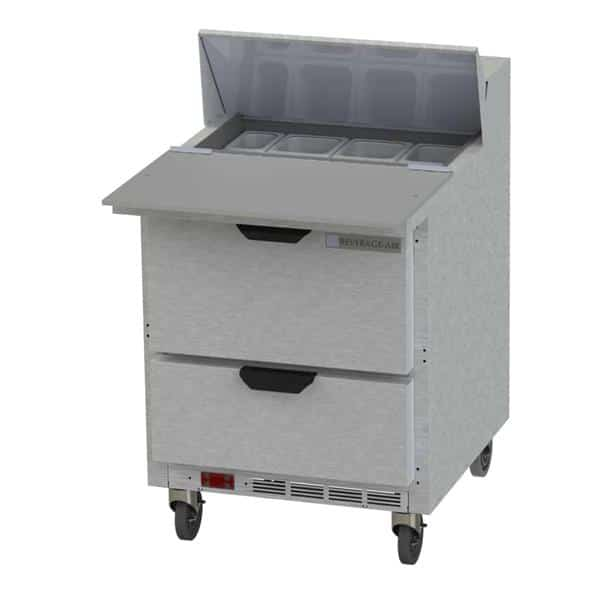 Beverage Air SPED27HC-C Elite Series™ Sandwich Top Refrigerated Counter