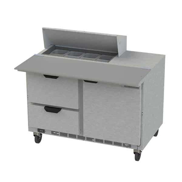 Beverage Air SPED48HC-08C-2 Elite Series™ Sandwich Top Refrigerated Counter