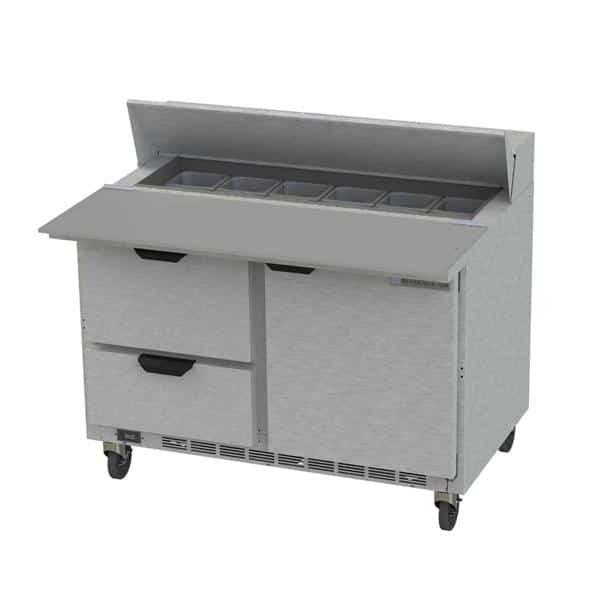 Beverage Air SPED48HC-12C-2 Elite Series™ Sandwich Top Refrigerated Counter