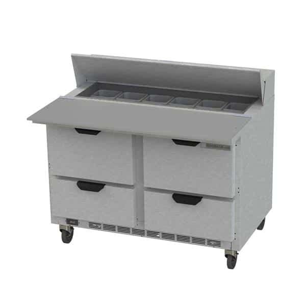 Beverage Air SPED48HC-12C-4 Elite Series™ Sandwich Top Refrigerated Counter