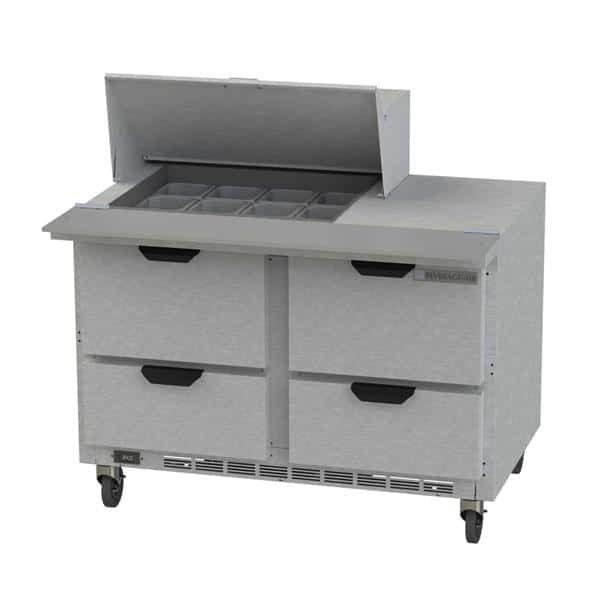 Beverage Air SPED48HC-12M-4 Elite Series™ Mega Top Refrigerated Counter