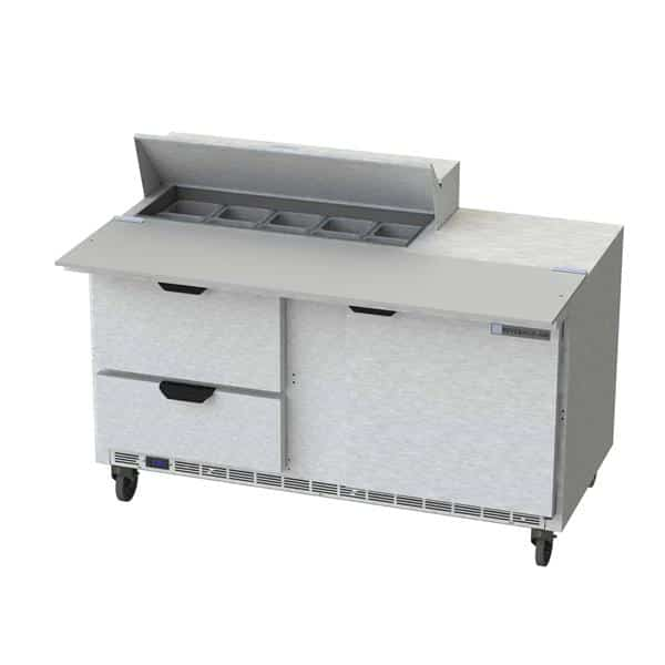 Beverage Air SPED60HC-10C-2 Elite Series™ Sandwich Top Refrigerated Counter