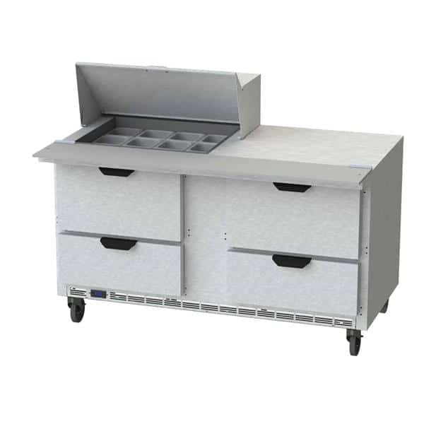 Beverage Air SPED60HC-12M-4 Elite Series™ Mega Top Refrigerated Counter