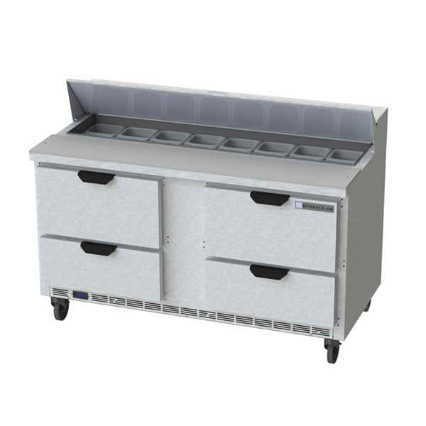 Beverage Air SPED60HC-16-4 Elite Series™ Sandwich Top Refrigerated Counter