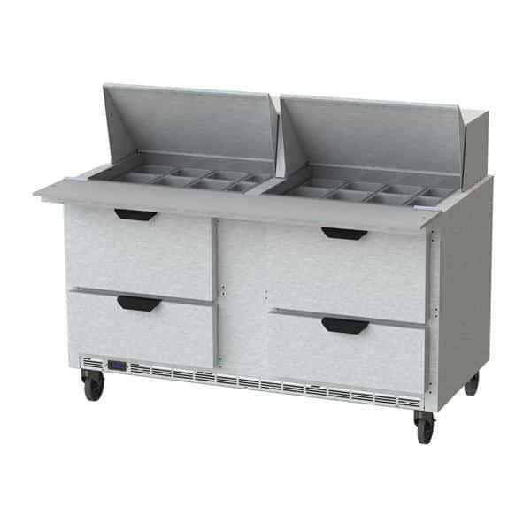 Beverage Air SPED60HC-24M-4 Elite Series™ Mega Top Refrigerated Counter