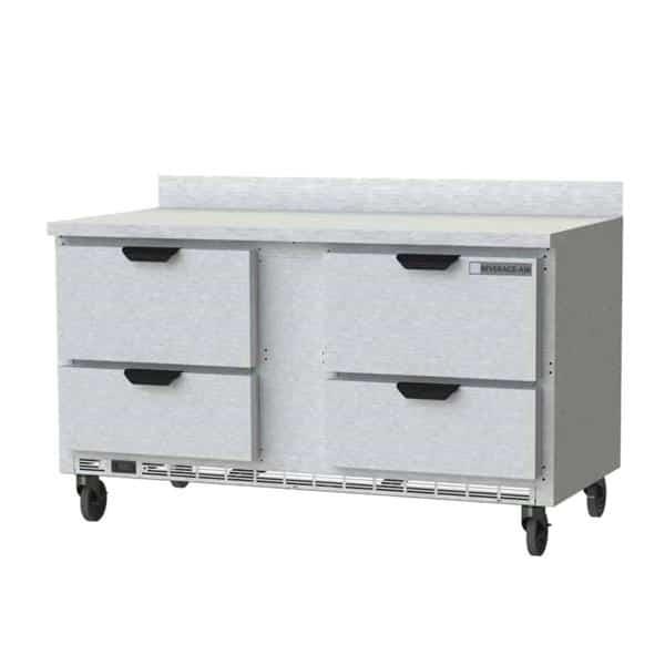 Beverage Air WTFD60AHC-4 Worktop Freezer
