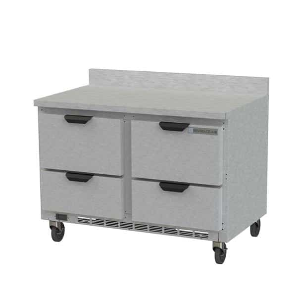 Beverage Air WTRD48AHC-4-FIP Worktop Refrigerator