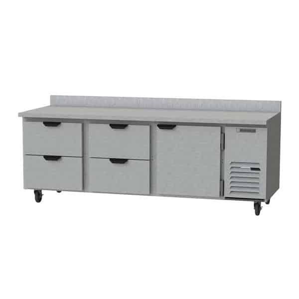 Beverage Air WTRD93AHC-4 Worktop Refrigerator