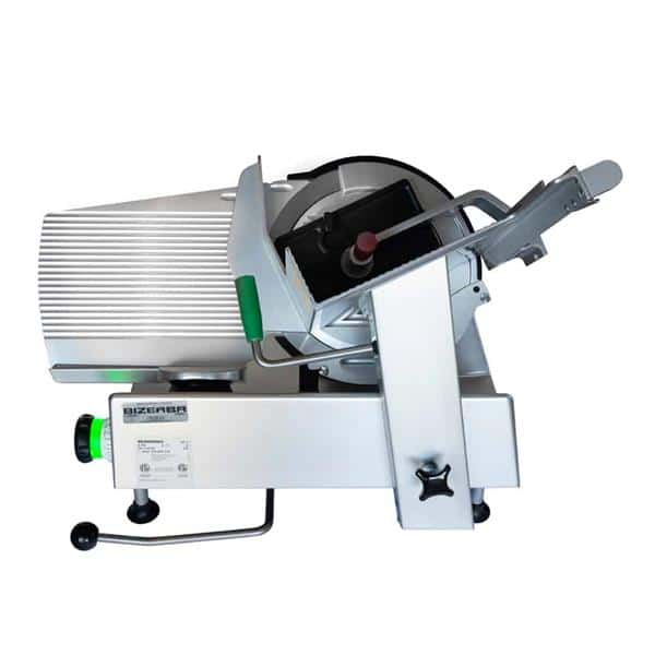 Bizerba GSP H I 90-K12 Manual Heavy Duty Illuminated Safety Slicer