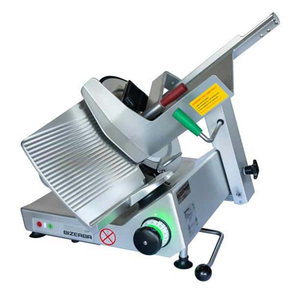 Bizerba GSP H I 90 Manual Heavy Duty Illuminated Safety Slicer