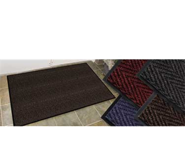 Cactus Mat Mat 1487M-34 Chevron-Rib Herringbone High Traffic Entrance Mat