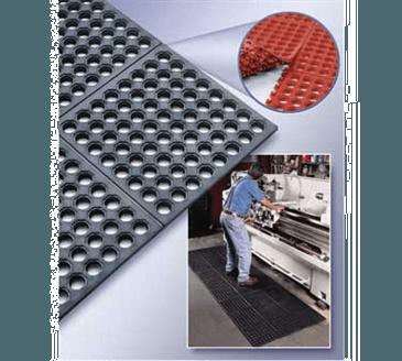 Cactus Mat Mat 2523-C35 VIP Prima Connecting Rubber Mat System