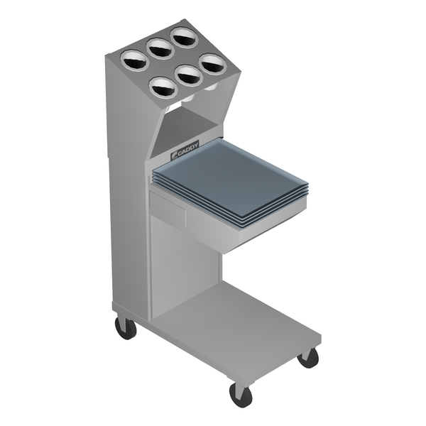 Caddy CM-1814-CS Caddy Magic Tray & Silverware Dispenser