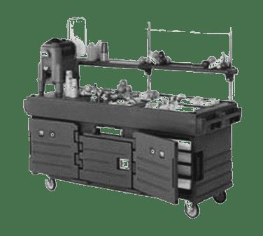 Cambro KVC854186 CamKiosk® Cart