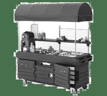 Cambro KVC854C191 CamKiosk® Cart