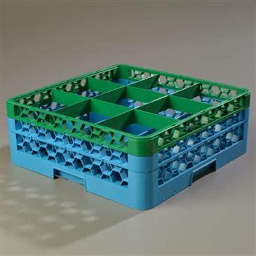 """Carlisle RG9-2C413 OptiClean"""" Dishwasher Glass Rack"""