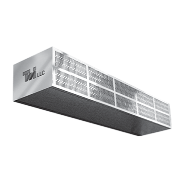 Curtron Products Products S-LP-120-2-EH Low Profile Air Curtain