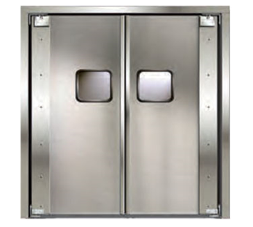 Curtron Products Products SPD-20-AL-DBL-4896 Service-Pro® Series 20 Double Swinging Door