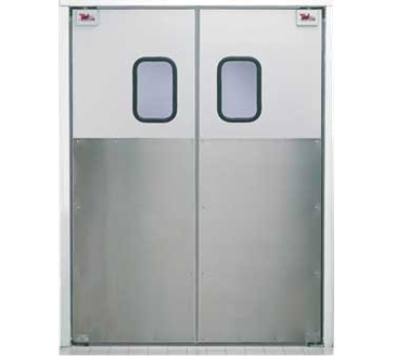 Curtron Products Products SPD-30-AL-DBL-4896 Service-Pro® Series 30 Double Swinging Door