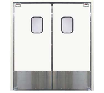 Curtron Products Products SPD-30-L-DBL-4296 Service-Pro® Series 30 Double Swinging Door