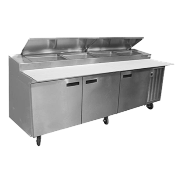 Delfield 18648PTLV LiquiTec®Refrigerated Prep Table