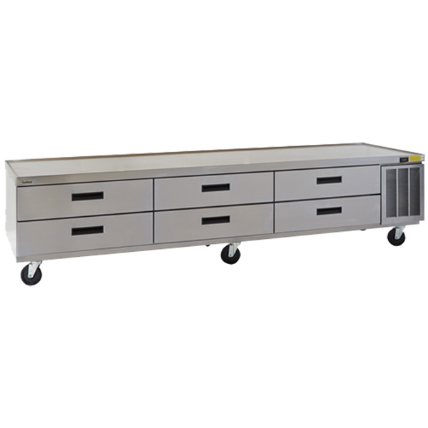 Delfield F29110P Refrigerated Low-Profile Equipment Stand