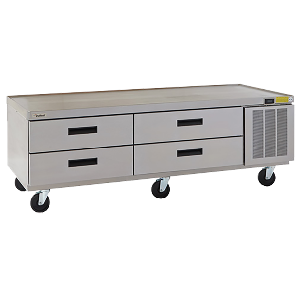 Delfield F2975P Refrigerated Low-Profile Equipment Stand