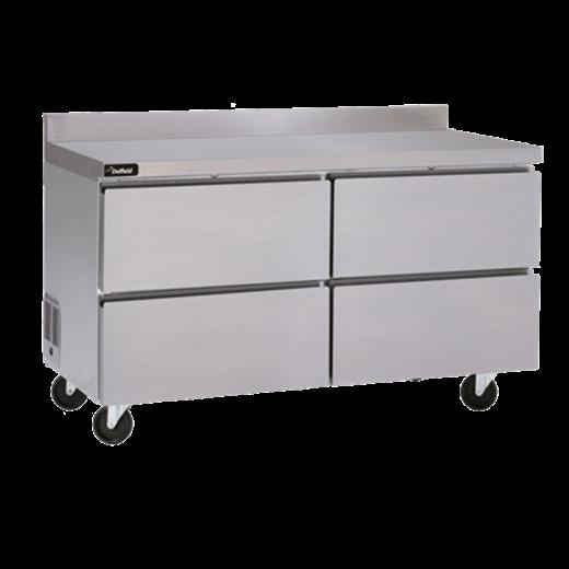 Delfield GUF27BP-D Coolscapes™ Worktable Freezer