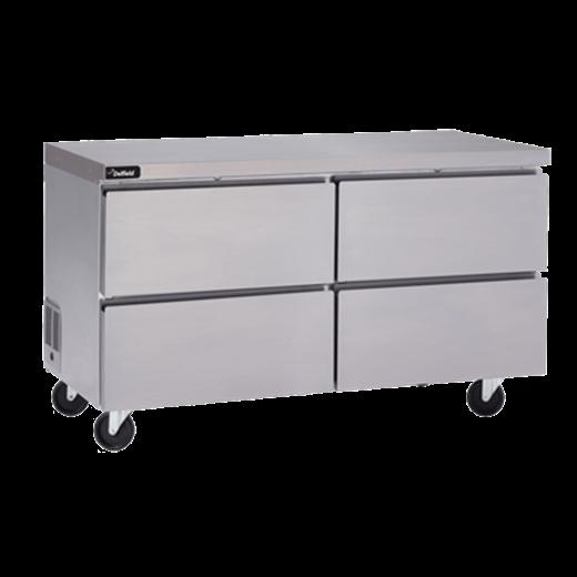 Delfield GUF32P-D Coolscapes™ Undercounter/Worktable Freezer