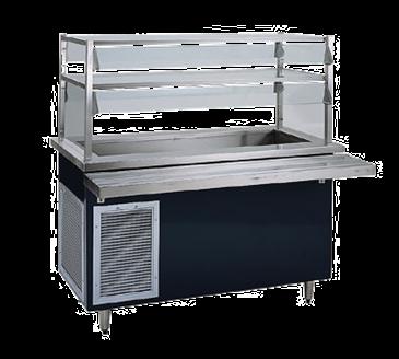 Delfield KCSC-36-B Shelleyglas® Cold Food Serving Counter
