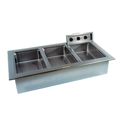 Delfield N8768ND Narrow Drop-In Hot Food Well Unit