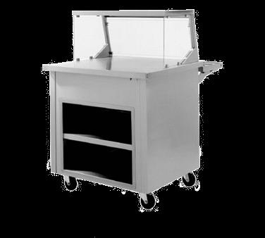Delfield SC-60 Shelleysteel™ Solid Top Serving Counter