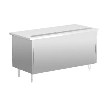 Delfield SCU-60-NU Shelleysteel™ Beverage Serving Counter