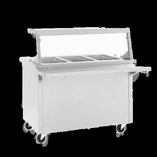 Delfield SH-5-NU Shelleysteel™ Hot Food Serving Counter