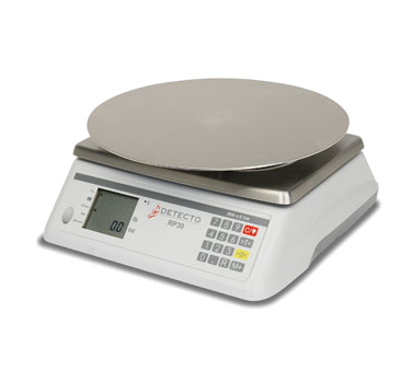 Detecto RP30R Rotating Platter Scale