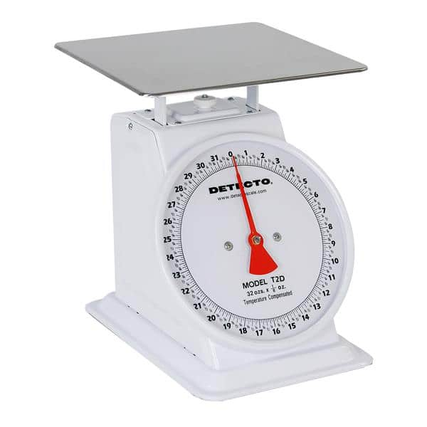 Detecto T-2-D Top Loading Dial Scale