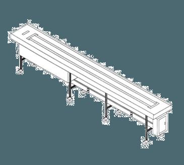 Dinex DXIESB16 Tray Make-Up Conveyor