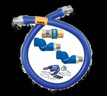 Dormont Manufacturing Manufacturing 16100BPQ2SR36 Dormont Blue Hose™ Moveable Gas Connector Hose