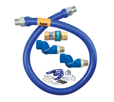 Dormont Manufacturing Manufacturing 16100BPQ2SR60 Dormont Blue Hose™ Moveable Gas Connector Hose