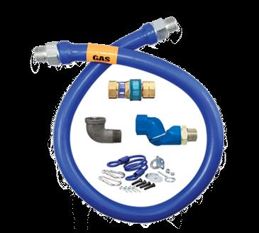 Dormont Manufacturing Manufacturing 16100BPQSR48 Dormont Blue Hose™ Moveable Gas Connector Hose