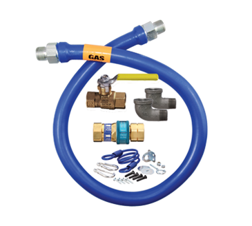 Dormont Manufacturing Manufacturing 16100KIT24 Dormont Blue Hose™ Moveable Gas Connector Kit