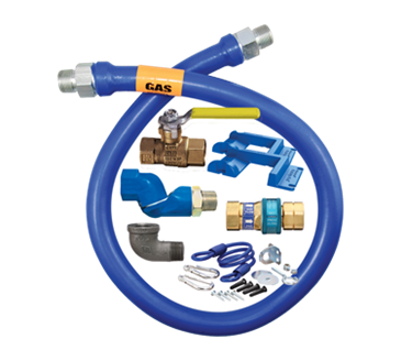 Dormont Manufacturing Manufacturing 16100KITS48PS Dormont Blue Hose™ Moveable Gas Connector Kit